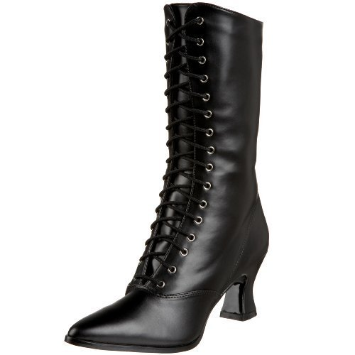 pu b Women' 7 S Boots Pleaser nbsp;uk Vic120 Black By Funtasma E15nZwPqt