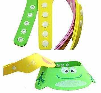 SANDIN 2pcs Baby Kids Kinder Shampoo Baden Dusche Displayschutzfolie Gap Hat