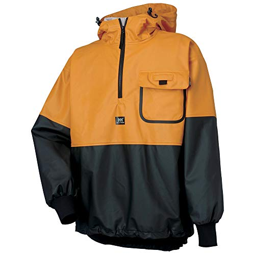 Helly Hansen Workwear Roan Fishing Guide Anorak Jacket Ochre/Charcoal 2XL