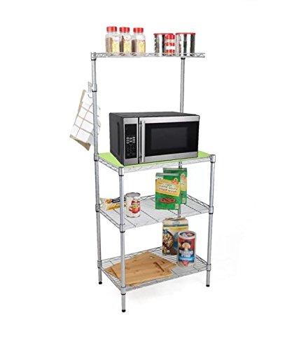 Amazon.com: Gran estantería, soporte para microondas, 3 ...