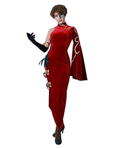Cheongsam Costume (Miccostumes Volume 4 Cinder Fall Cosplay Cheongsam Costume (women m))