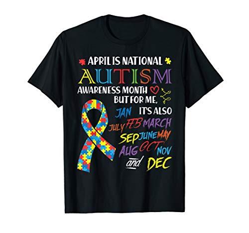 (April is National Autism Awareness Month Shirt Puzzle)