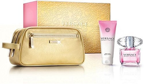 VERSACE Bright Crystal 3 Piece Gift Set for Her