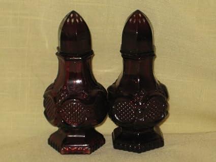 Amazoncom Vintage Avon Red Ruby Glass The 1876 Cape Cod