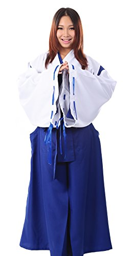 [De-Cos Drift off to Blue Orchid Island / Nagasarete Airantou Ayane Kimono] (Ayane Cosplay Costumes)