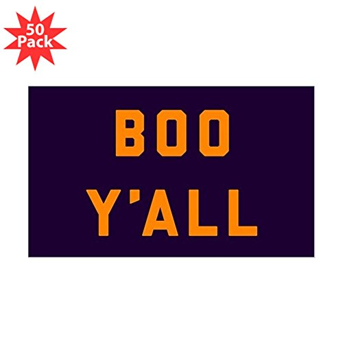 CafePress - Boo Y'all - Sticker (Rectangle 50 pk) by CafePress