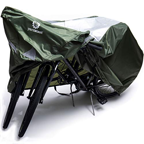 YardStash Bicycle Cover XL: Extra Large Size for Beach Cruiser Cover, 29er Mountain Bike Cover, Electric Bike Cover, Multiple Kids