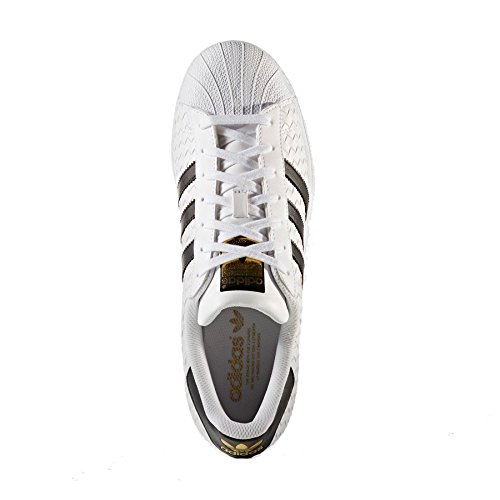 f Adidas Pantofole ftwwht cblack Bianco Adidassuperstar Uomo gold 6n4xqnRawC