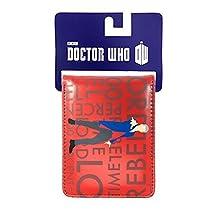 Doctor Who Rebel Time Lord Bi-Fold Wallet