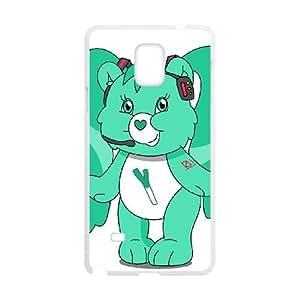Care Bear Samsung Galaxy Note 4 Cell Phone Case White TPU Phone Case SV_292375
