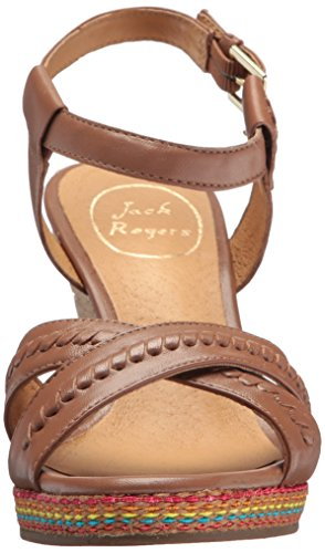 Jack Rogers Women's Abbey Wedge Sandal Cognac jHLT1RWEmR