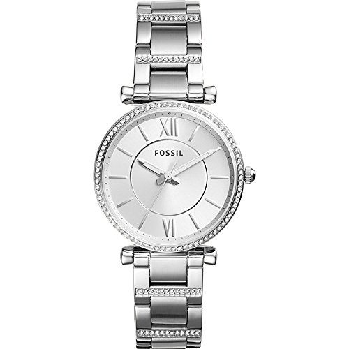 Fossil-Carlie-Three-Hand-Stainless-Steel-Watch