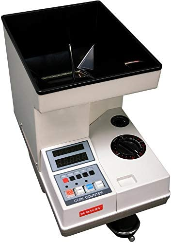 Semacon S-120 Electric Heavy Duty Coin Counters Offsorter