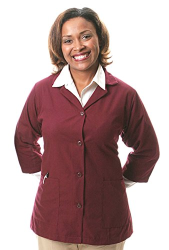 Smock Housekeeping (Averill's Sharper Uniforms Women's Ladies Three-Quarter Sleeve Housekeeping Smock Medium (38-40) White)