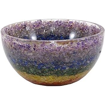 Harmonize Multi1 Decorative Bowls for Home Décor Handmade Reiki Crystal Gemstone Bowl