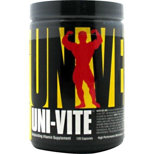 Universal Nutrition Uni-Vite Capsules, 120 Count
