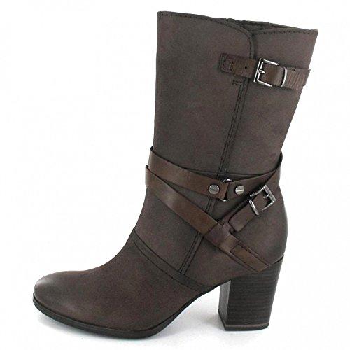 0b12a79ee Marco Tozzi - Botas de Piel para mujer marrón marrón elegante ...