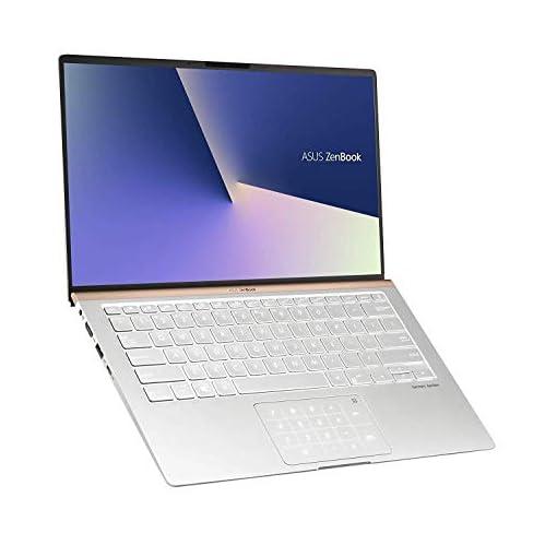 """ASUS ZenBook 14 UX433FA-A5144T - Portátil de 14"""" FHD (Intel Core i7-8565U, 8 GB RAM, 256 GB SSD, Intel UHD Graphics 620, Windows 10) Metal Plata Carámbano - Teclado QWERTY Español 3"""