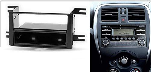 Sound-Way Marco para Radio Adaptador 1 DIN 2 DIN Nissan Micra March Versa Note//Subaru Impreza