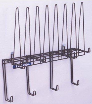 (Rackems Space Saver PPE Storage Racks - Stainless)