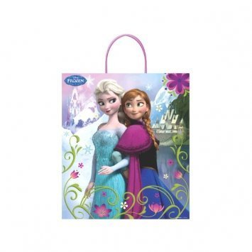 Disney Frozen Trick or Treat Bags (2 pack) by New England Party Supplies (Frozen Trick Or Treat Bag)