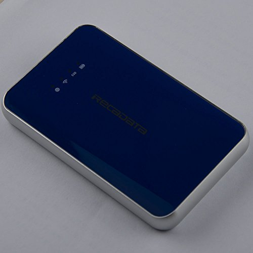 iRecadata i8 External Solid State Drive 128GB, Wireless WiFi Portable SSD, USB3.1 Type-C, WiFi Portable Router, 2250mAh Power Bank by irecadata (Image #1)