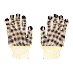 Dotted Jersey Glove - Morris 53152 Dotted Cotton Glove, PVC