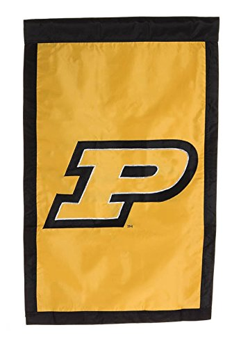 Amazon.com : Ashley Gifts Customizable Applique Regular Flag, Double Sided, Purdue University : Garden & Outdoor