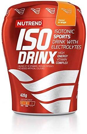 Nutrend ISODRINX isotonische Sportgetränk Ihrem Körper eine gute Portion Energie für körperliche Aktivität 420g...