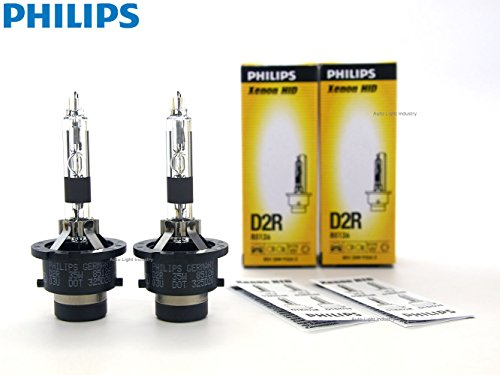 PHILIPS 4300K OEM D2R Replacement HID bulbs (#85126) - Pack of 2 by ALI