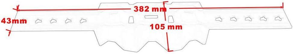 coperchio silenziatore Protezione marmitta di scarico del motociclo Arancia scudo termico per MX//EXC//SX 125 200 250 per Husqvarna per Yamaha