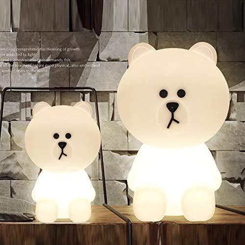 HELA Entzückende 31cm Lampen von Bear Braun Dekorative Lampe für Kinderzimmer (Bear Braun)