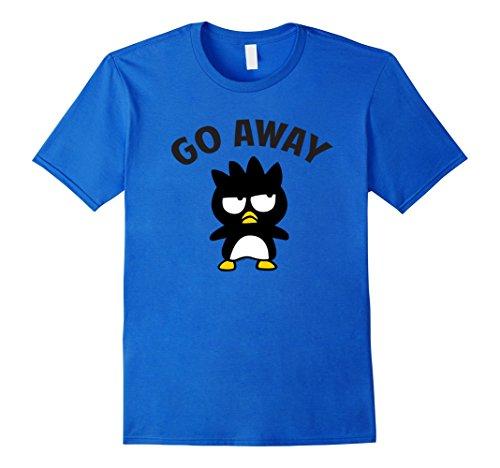 "Mens Badtz - Maru ""Go Away"" Shirt XL Royal Blue"