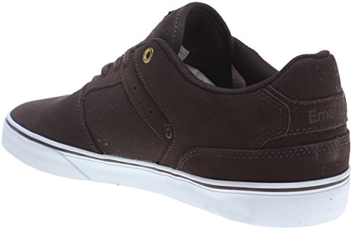 Emerica Reynolds Low Vulc brown/white Schuhe