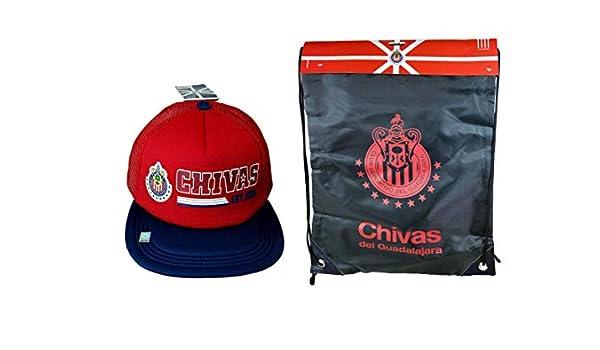 RHINOXGROUP Chivas De Guadalajara - Gorra de fútbol Oficial y ...