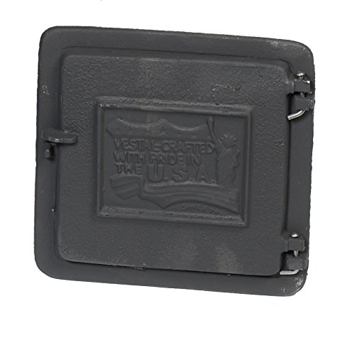"Mutual Industries 26-003 Cast Iron Clean Out Door, 10"" x 8"""