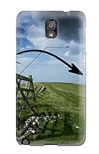 Durable Protector Case Cover With Artful Highland Gate Hot Design For Galaxy Note 3