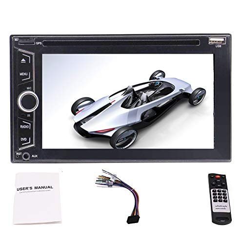 EINCAR Double 2 Din Car Stereo Supports CD: Amazon.co.uk: Electronics