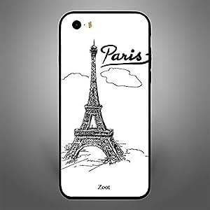 iPhone SE Doodle Eiffel Tower