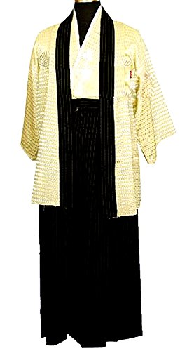 T2C:Japanese Traditional Formal Men Kimono Samurai - Or Lloyd Center