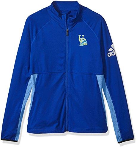 NCAA Delaware Fightin' Blue Hens Adult Women Logo Performer Full Zip Jacket, Large, Collegiate Royal