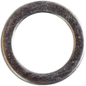 10 St/ück Aluminium Flachdichtung 12 x 20 x 2 mm Dichtring Unterlegscheibe Alu Dichtung