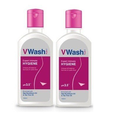 VWash Plus Expert Intimate Hygiene - 100ml (pack of 2)