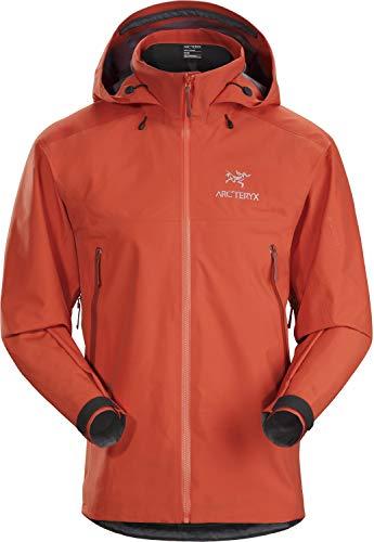 Arc'teryx Beta AR Jacket Men's (Sambal, Medium) (Best Hard Shell Jacket For Skiing)
