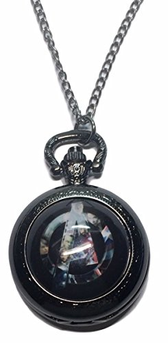Marvel's The Avengers Glass Dome Pendant Pocket Watch ()