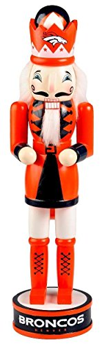 FOCO Denver Broncos Holiday Nutcracker
