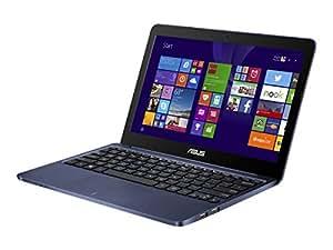ASUS X205TA-DS01-BL-OFCE Portable 11.6-Inch Intel Quad-Core Laptop 2GB RAM 32GB Storage, Windows 8.1, Dark Blue