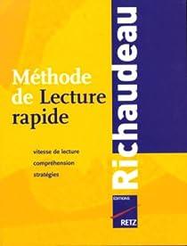 Méthode de Lecture rapide par Richaudeau