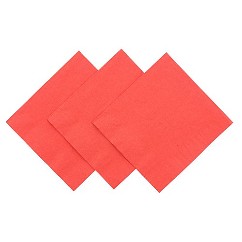 Royal Red Beverage Napkin Package product image