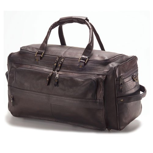 - Clava Multi-Compartment 19 Duffel - Vachetta Cafe